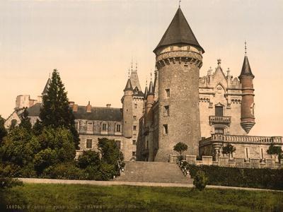 Chateaux de Bourbon , Busset near Vichy, France, c.1890-1900