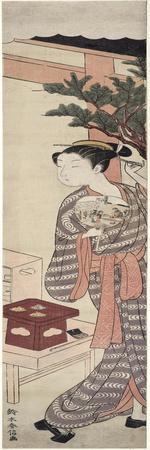The Tea Stall - Kagiya Osen, c.1769