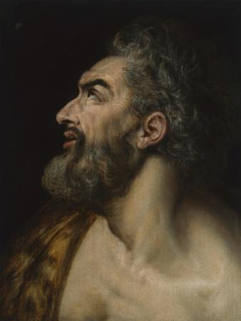 Study head of a bearded man, c.1565