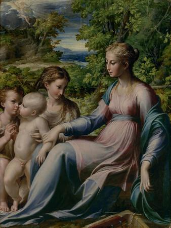 Virgin and Child with St. John the Baptist and Mary Magdalene, 1535-40