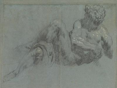Study after Michelangelo's Giorno, c.1550-55