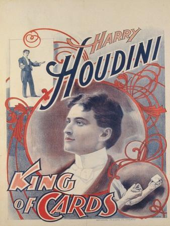 Harry Houdini, King of Cards, 1895