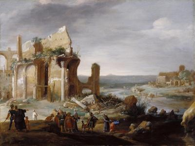 Moses and Aaron Changing the Rivers of Egypt to Blood, 1631