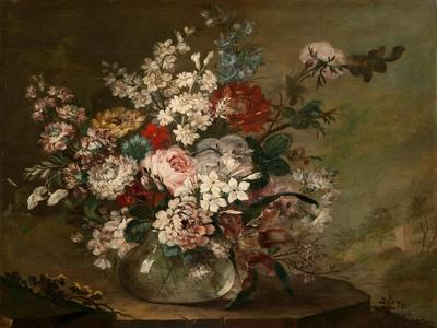 Still Life with Flowers in a Vase, c.1780-1790