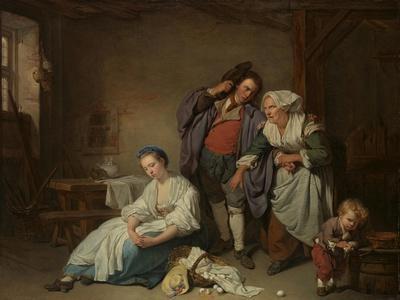 Broken Eggs, 1756