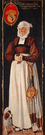 Portrait of Eslbeth Lochmann, wife of Jacob Schwytzer, 1564