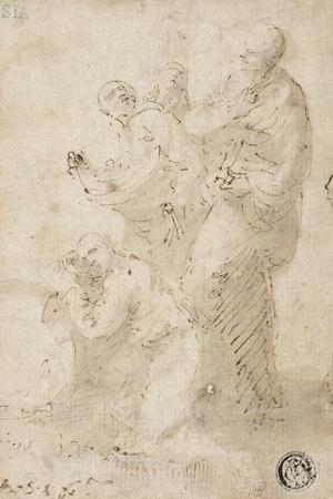 A group of figures, c.1649