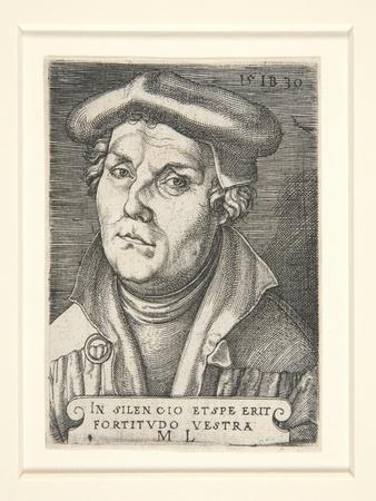 Portrait of Martin Luther, 1530