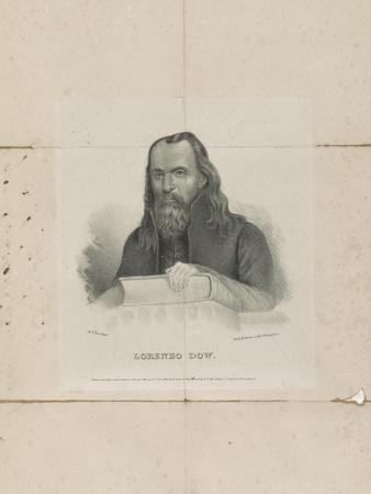 Lorenzo Dow, 1834