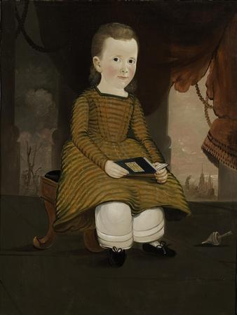 Little Child From Maine, 1846