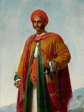 Study for 'Portrait of an Indian', c.1807