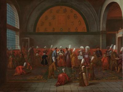 The Meal in Honour of Ambassador Cornelis Calkoen, c.1727-30