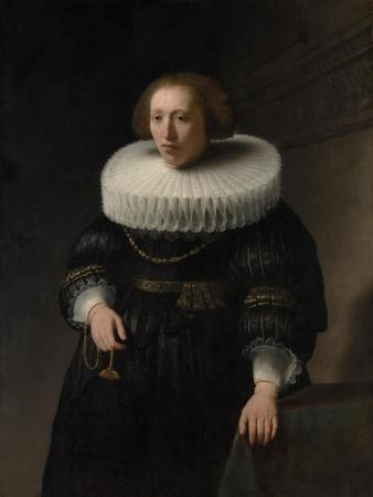 Portrait of a Woman, probably a Member of the Van Beresteyn Family, 1632