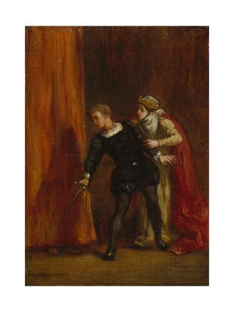 Hamlet and His Mother, 1849