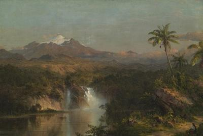 View of Cotopaxi, 1857