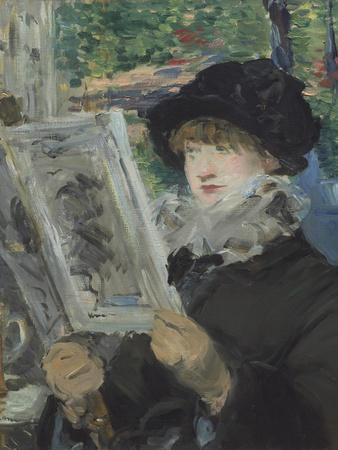 Woman Reading, 1879-80