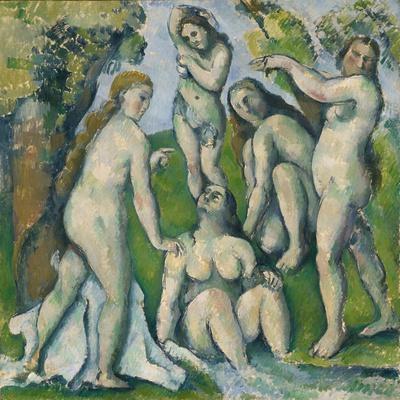 Five Bathers, 1885-87