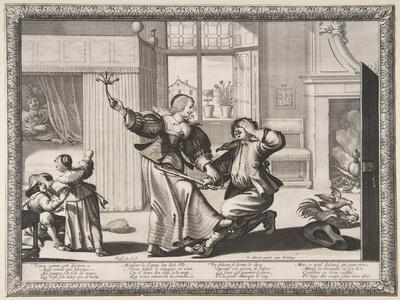 The Husband-Beater, c.1633