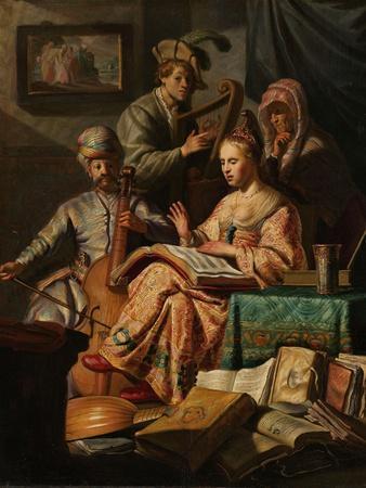Musical Company, 1626
