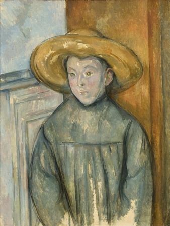 Boy with a Straw Hat, 1896