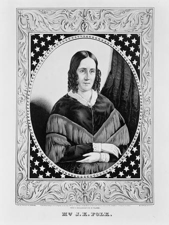 Sara Polk, 1846