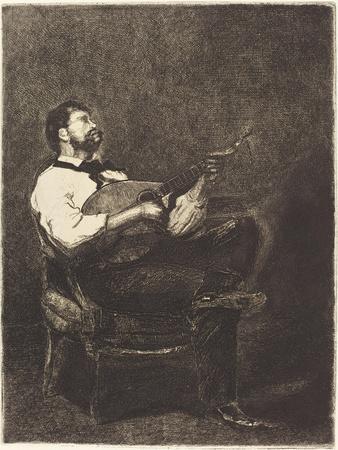 Guitar Player , 1861