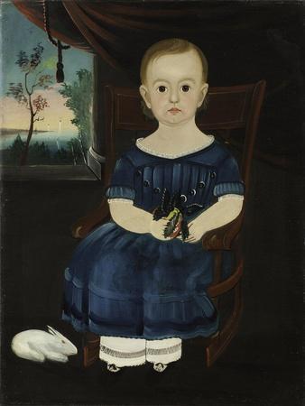 Child with Rabbit, 1835