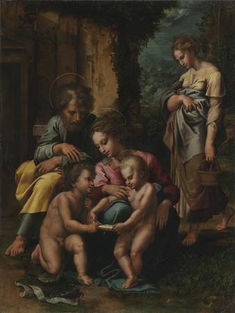 The Holy Family, c.1520-23