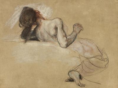 Crouching woman, 1827