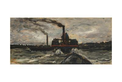 River Boat, c.1860