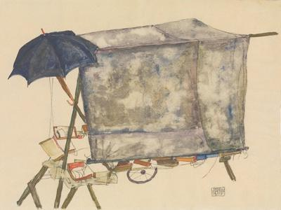 Street Cart, 1914