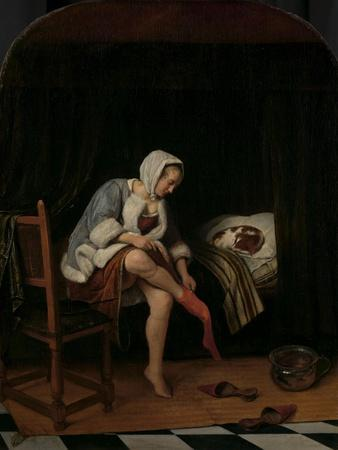 Woman at her Toilet, 1655-60