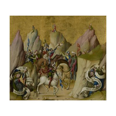 The Meeting of the Three Kings, with David and Isaiah, c.1475