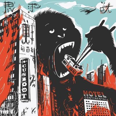Big Gorilla Destroys City