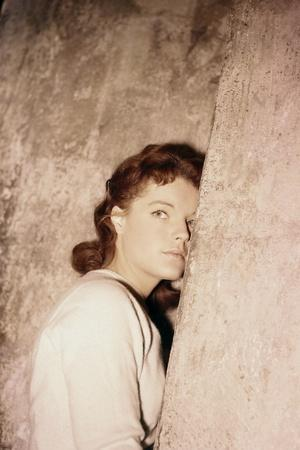SCAMPOLO, 1957 directed by ALFRED WEIDENMANN Romy Schneider (photo)