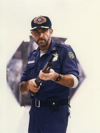 OUTLAND by PeterHyams with Sean Connery en, 1981 (photo)