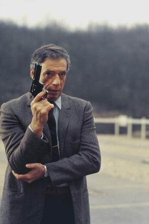POLICE PYTHON, 1976 directed by ALAIN CORNEAU Yves Montand (photo)