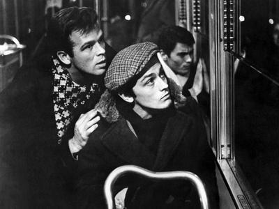 """""""Rocco and his Brothers"""" (Rocco and ses freres) by Luchino Visconti with Renato Salvatori and Alain"""