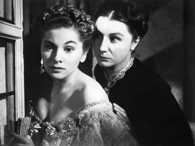 REBECCA, 1940 directed by ALFRED HITCHCOCK Joan Fontaine / Judith Anderson (d'apres Daphne du Mauri