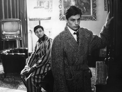 """Rocco and his Brothers"" (Rocco and ses freres) by Luchino Visconti with Roger Hanin and Alain Delo"