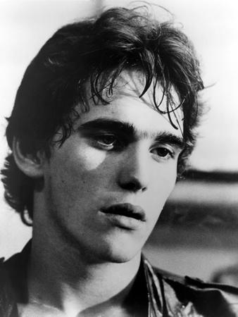 RUMBLE FISH, 1983 directed by FRANCIS FORD COPPOLA Matt Dillon (b/w photo)