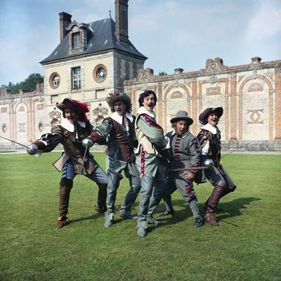 LES TROIS MOUSQUETAIRES, 1961 directed by BERNARD BORDERIE Bernard Woringer, Jacques Toja, Gerard B
