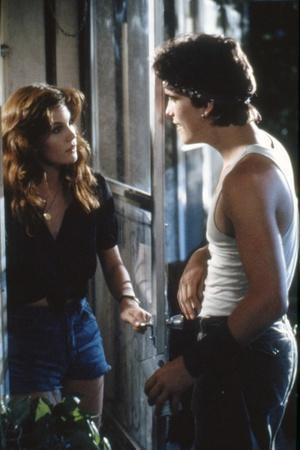 RUMBLE FISH, 1983 directed by FRANCIS FORD COPPOLA Diane Lane and Matt Dillon (photo)