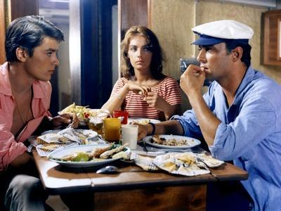 Plein Soleil PURPLE NOON by Rene Clement with Alain Delon, Marie Laforet and Maurice Ronet., 1960 (