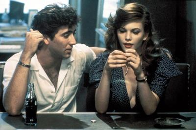 RUMBLE FISH, 1983 directed by FRANCIS FORD COPPOLA Nicolas Cage and Diane Lane (photo)