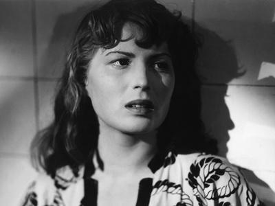 RISO AMARO / RIZ AMER, 1949 directed by GUISEPPE by SANTOS Silvana Mangano (b/w photo)