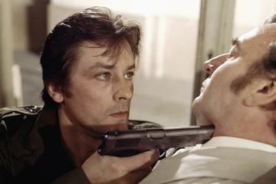 Mort d'un pourri Death of a Corrupt Man by Georges Lautner with Alain Delon and Julien Guiomar, 197