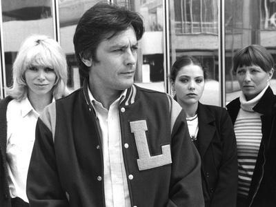 Mort d'un pourri Death of a Corrupt Man by Georges Lautner with Mireille Darc, Alain Delon, Ornella