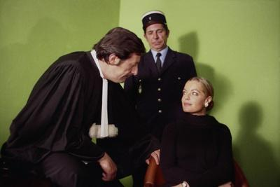 LES INNOCENTS AUX MAINS SALES, 1974 directed by CLAUDE CHABROL Jean Rochefort and Romy Schneider (p