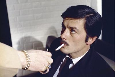 Le Cercle Rouge The red circle by Jean-Pierre Melville with Alain Delon, 1970 (photo)